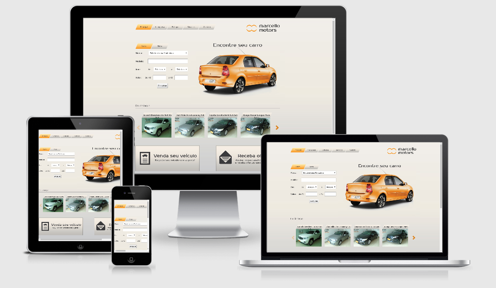 Site Marcello Motors